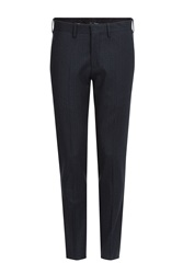 Neil Barrett Virgin Wool Pants Blue