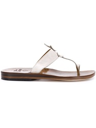 Calleen Cordero 'Karma' Sandals Brown
