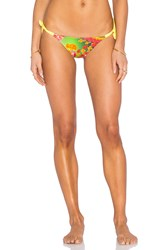 Sauvage Electric Butterfly Rio Side Tie Yellow