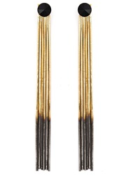 Iosselliani 'Black Hole Sun' Earrings Metallic