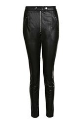 Goldie If Looks Could Kill Faux Leather Trousers By Black