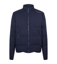 Porsche Design Quilted Down Jacket Male Navy