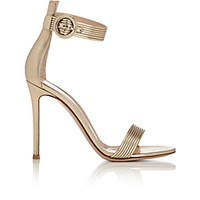 Gianvito Rossi Women's Baiadera Ankle Strap Sandals Gold