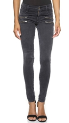 James Jeans Twiggy Crux Double Front Zip Skinny Jeans Slate