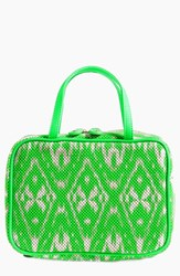 Stephanie Johnson 'Tamarindo Green' Traveler Cosmetics Case