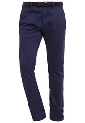 S.Oliver Chinos Tattoo Blue Dark Blue