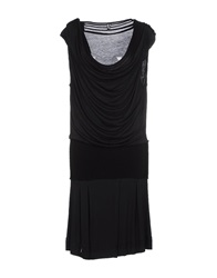 Dek'her Knee Length Dresses Black