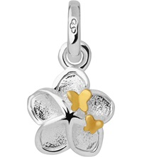 Links Of London Flower And Butterfly Sterling Silver Mini Charm