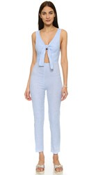 Solid And Striped The Jumpsuit Light Blue