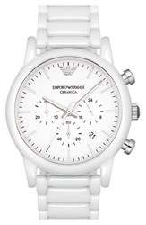 Men's Emporio Armani Chronograph Bracelet Watch 43Mm