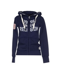 True Religion Sweatshirts Dark Blue