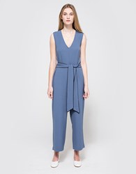 Ganni Clark Jumpsuit Moonlight Blue