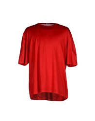 Gran Sasso Topwear T Shirts Men Brick Red