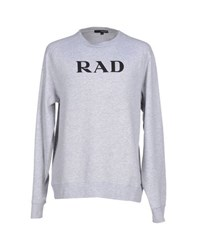 The Quiet Life Topwear Sweatshirts Men Light Grey