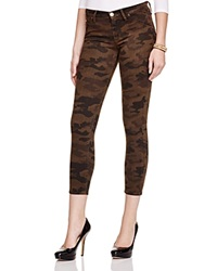 Hudson Lilly Camouflage Print Skinny Jeans Combat Camo
