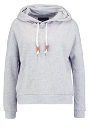 Only Onlnew Betty Hoodie Light Grey Melange Mottled Light Grey