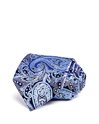 Bloomingdale's The Men's Store At Traditional Paisley Classic Tie Navy