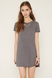Forever 21 Heathered T Shirt Dress