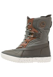 O'neill Hucker Winter Boots Olive Melee Green