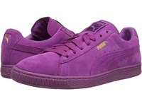 Puma The Suede Classic Mono Iced Meadow Mauve Team Gold Men's Shoes Pink