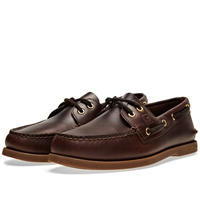 Sperry Topsider Authentic Original 2 Eye Amaretto