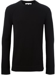 Helmut Lang Crew Neck Jumper Black