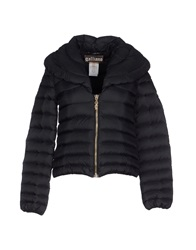 Galliano Down Jackets Black