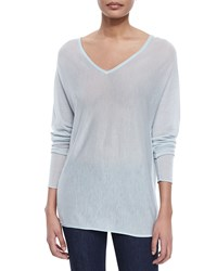 Elie Tahari Harvey Cashmere Sweater Mint Antique