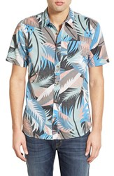 Men's Vans 'Cosgrove Ii' Print Short Sleeve Woven Shirt