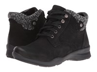 Earth Davana Black Soft Buck Women's Lace Up Casual Shoes