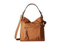 Jessica Simpson Tatiana Hobo Cognac Hobo Handbags Tan