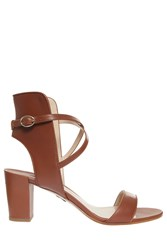Paul Andrew Lexington Sandals Brown