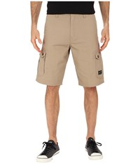 Oakley Foundation Cargo Shorts New Khaki Dark Heather Men's Shorts Beige