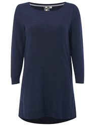 White Stuff Whirlpool Tunic Top Navy