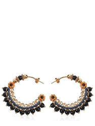 Etro Embellished Hoop Earrings