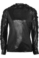 Christopher Kane Ruched Shell Top Black