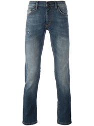 Versace Jeans Stonewashed Jeans Blue