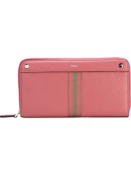 Bally 'Grosvenor' Wallet Pink And Purple