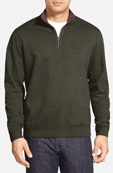 Tommy Bahama Men's 'Flip Side' Reversible Quarter Zip Twill Pullover