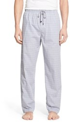 Men's Michael Kors Plaid Poplin Lounge Pants Stardust