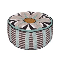 Orwell And Goode Badger Pouf Coloured