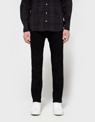 Levi's 511 Selvedge Slim Fit Rinsed Black