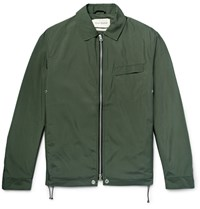 Oliver Spencer Dover Slim Fit Shell Jacket Army Green