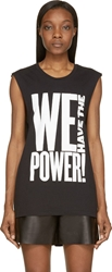 Blk Dnm Black 'We Have The Power' T Shirt