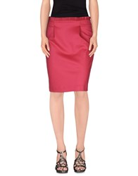 Ab Soul Skirts Knee Length Skirts Women Garnet