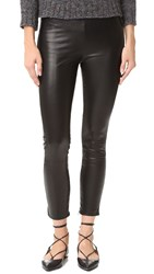 Theperfext Leather Pants Black