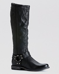 Frye Harness Tall Boots Phillip