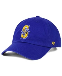 '47 Brand Seattle Mariners Core Clean Up Cap Royalblue