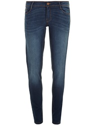 Dorothy Perkins Midwash Bailey Superskinny Blue