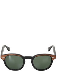 Moscot Lemtosh Wood Sunglasses